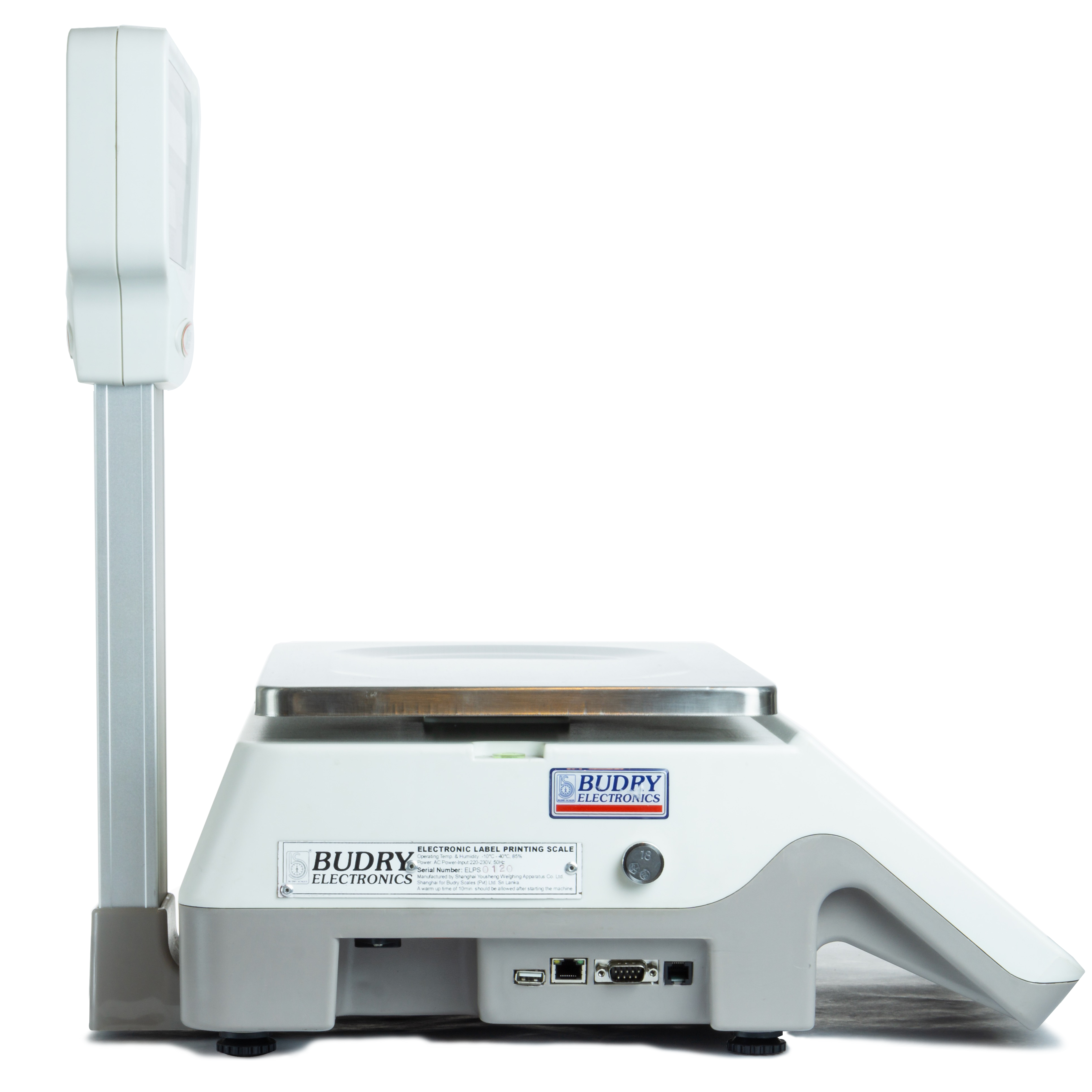Abd86 15kg Electronic Label Printing Scale Budry Scales